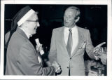 Sister Mary Andrew and Pat Bowlen 1985